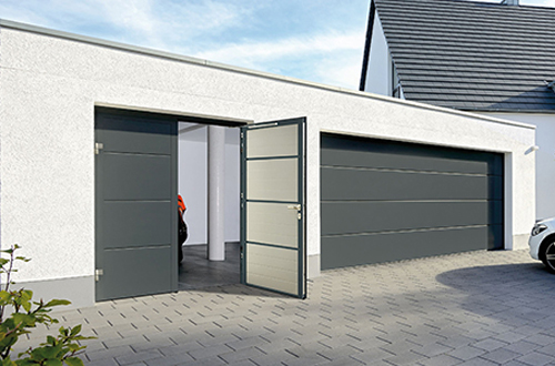 Matching Sectional Garage and Entrance Doors