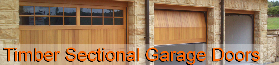 Timber Sectional Garage Doors Wooden Sectional Overhead Doors