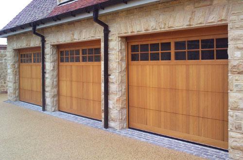 Timber Sectional Garage Doors Wooden Sectional Overhead