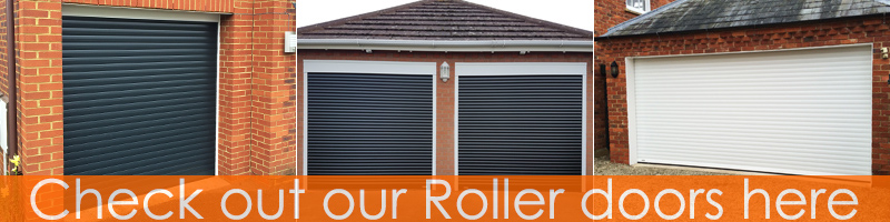 Roller doors at The Garage Door Centre