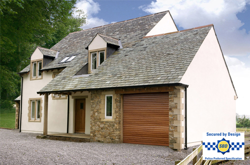 SWS Secured by Design garage doors