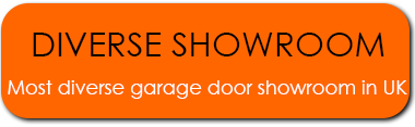 Most diverse garage door showroom in the UK