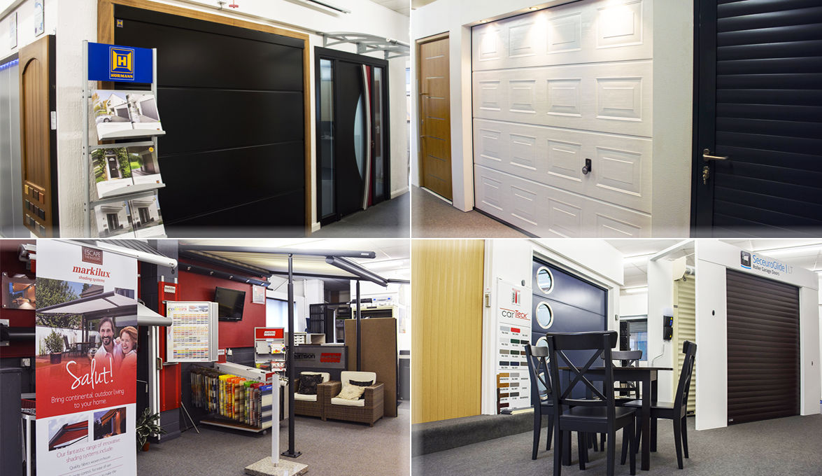 The Garage Door Centre Showroom in Wellingborough, Northamptonshire