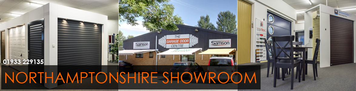 The Garage Door Centre Northamptonshire Showroom