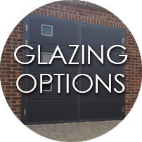 Glazing Options for Side Hinged Garage Doors