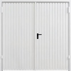 Garador Carlton side hinged garage door