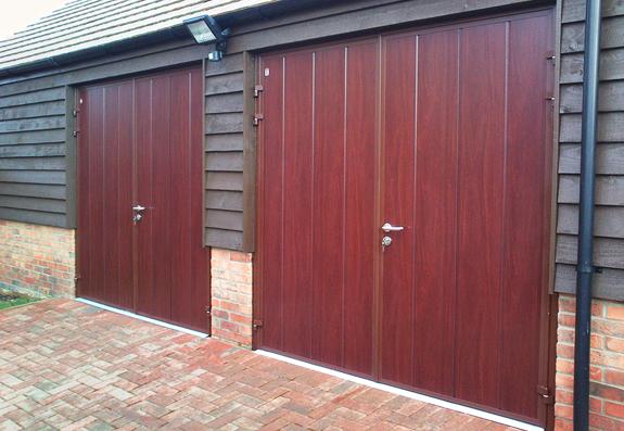 Side Hinged Garage Doors Steel Timber Amp Purpose Made