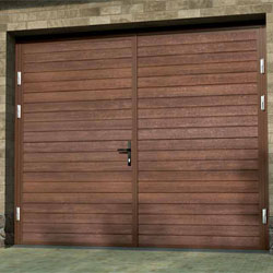 Ryterna Rib side hinged garage door