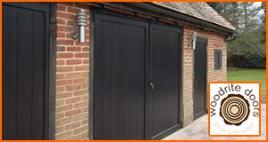 Side Hinged Garage Doors - Steel, Timber & Purpose Made Garage Doors UK