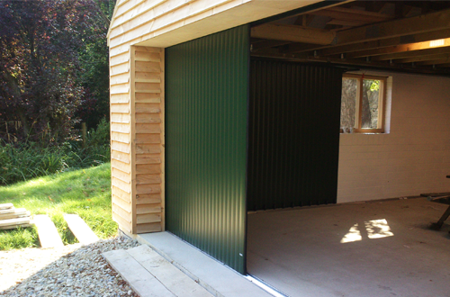 Sliding and Folding Doors - Timber and Commercial Sliding Garage Doors