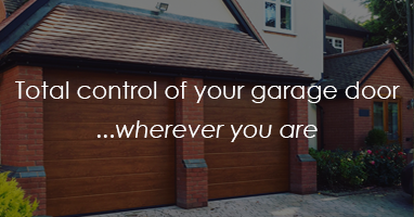 Total control of your garage door wherever you are