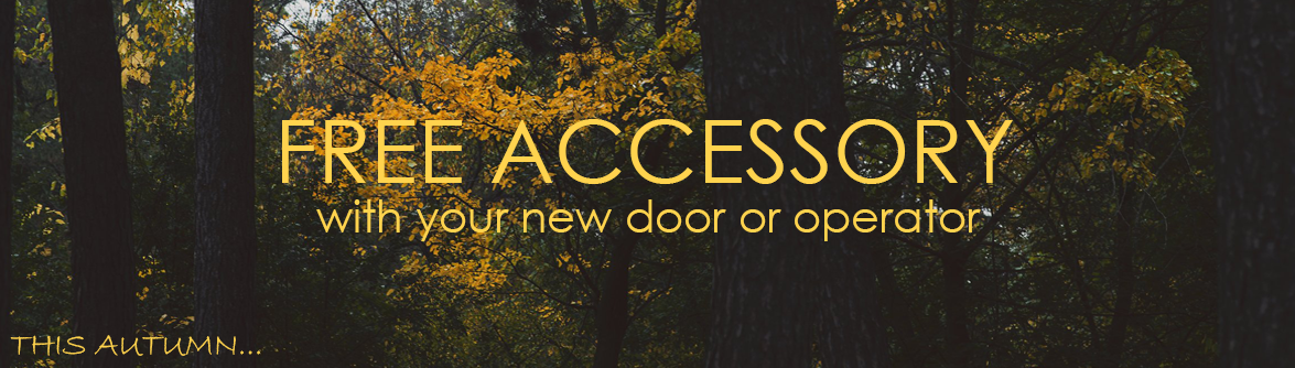 Free Accessory Autumn 2019 Special Offer from The Garage Door Centre