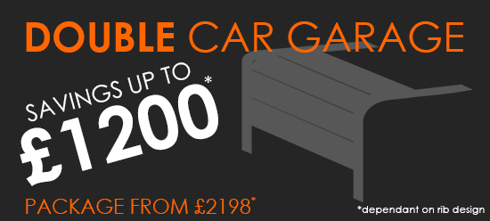 Double Car Garage RenoMatic Price - Save up to £1200