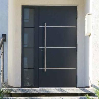 Ryterna Anthracite Front Entrance Door