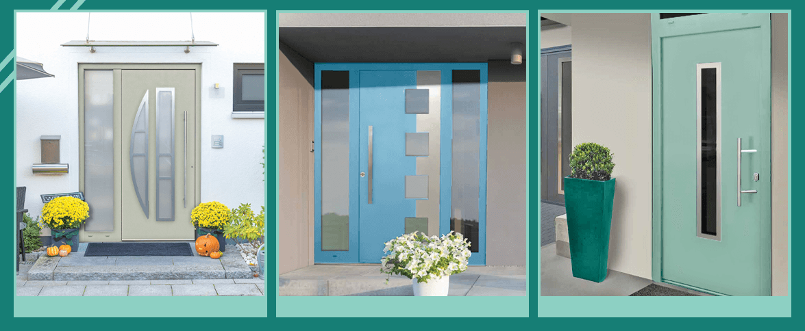 Beautiful choice of Heritage colours for quality Front Entrance Doors