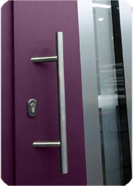 Purple Ryterna Front Entrance Door for the home