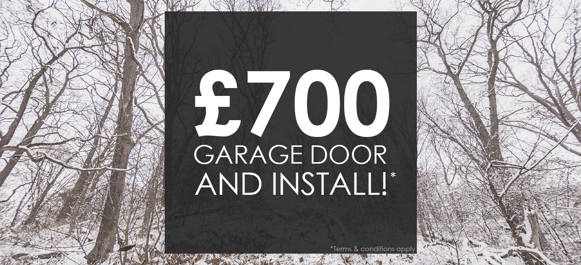 Up and Over Garage Door and Installation for £700