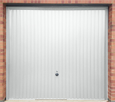 Hormann 2001 Vertical White Up and Over Garage Door - Special Offer