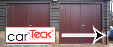 CarTeck Insulated Side-Hinged Garage Doors
