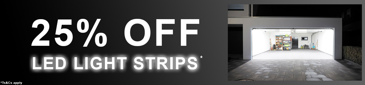 Carteck LED Light Strips: 25% off Autumn 2019