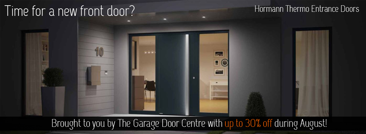 Hormann Thermo Entrance Doors at The Garage Door Centre