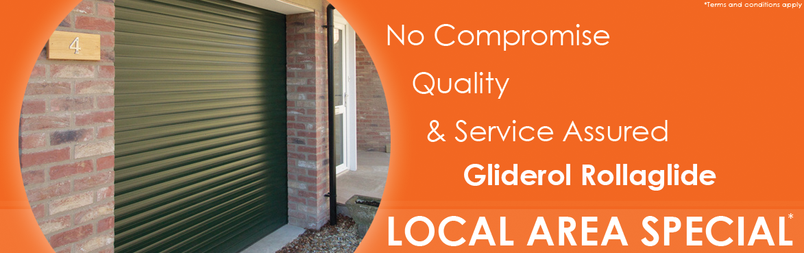 Gliderol insulated roller doors local offer