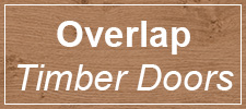 Overlap Timber doors