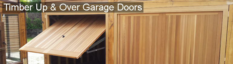 Timber Up & Over Garage Doors at The Garage Door Centre