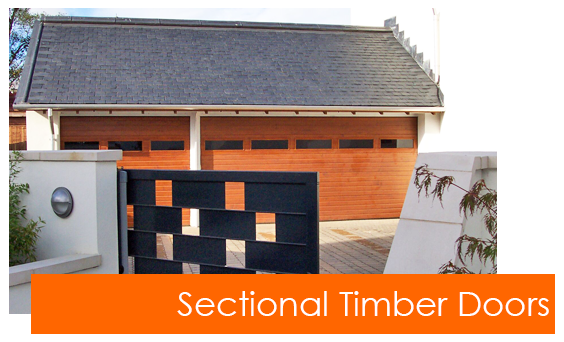 Sectional Timber Garage Doors