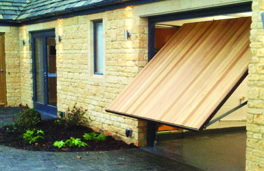 Timber Up and Over Garage Door