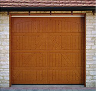 Hormann style 405 timber sectional door in nordic pine