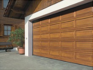 Hemlock V panel timber sectional door
