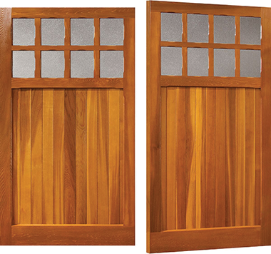 Bierton - Woodrite Side Hinged Garage Doors