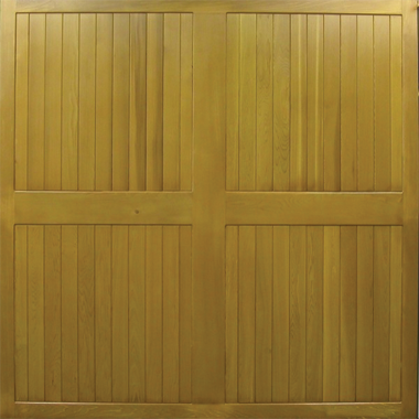 Ashford - Cedar Side Hinged Garage Doors
