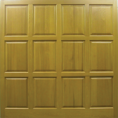 Chesterfield - Cedar Side Hinged Garage Doors