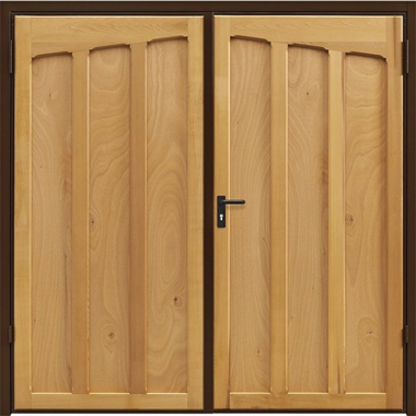 Tudor - Garador Timber Side Hinged Garage Doors