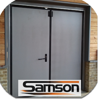 Samson Industrial Doors - sister company of The Garage Door Centre