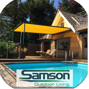 Samson Awnings - sister company of The Garage Door Centre
