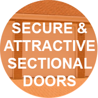 Highly Secure and Attractive Sectional Doors