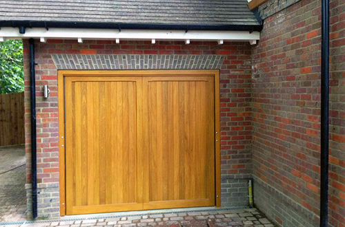 Timber Up & Over Garage Door