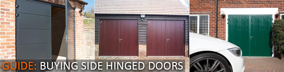 The Garage Door Centre guide to buying Side Hinged Garage Doors