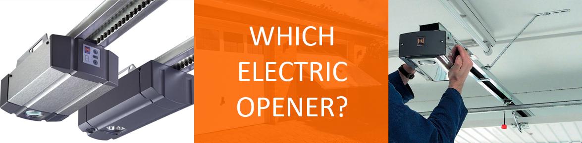 What Electric Opener to Buy - Electric Garage Door Operators