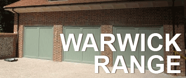 Woodrite Warwick Idigbo Range - Timber Garage Doors