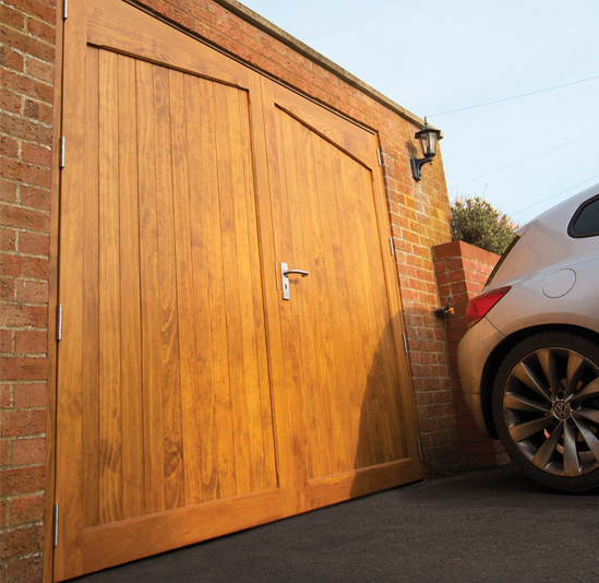 Woodrite Thetford Accoya Side Hinged Garage Door