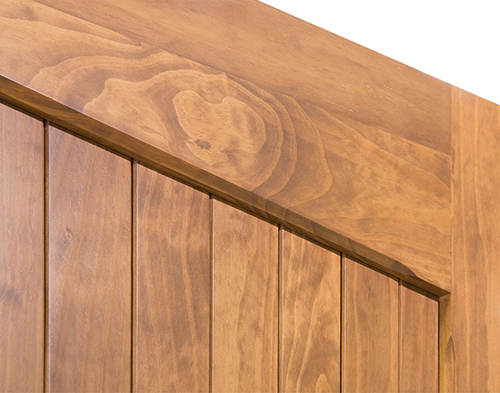 The graining of Accoya timber