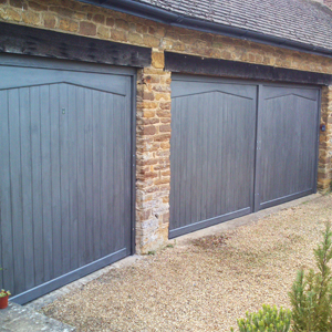 Woodrite up and over timber doors
