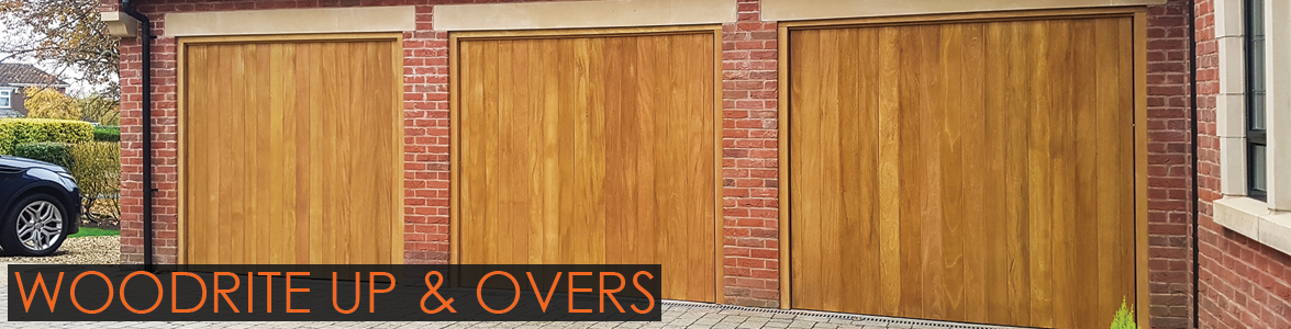 Woodrite Timber Up and Over Garage Doors