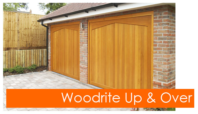 Woodrite up and over doors from The Garage Door Centre