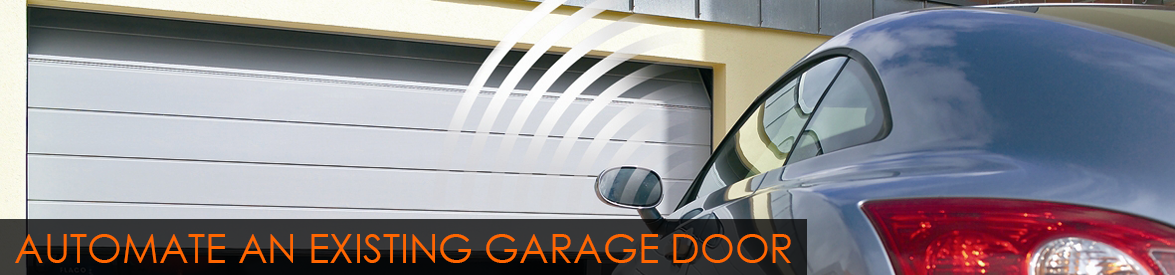 Automating an Existing Garage Door