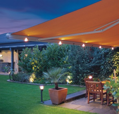 Built In Lighting Systems Are The Perfect Way To Create A Warm Ambience On Your Patio
